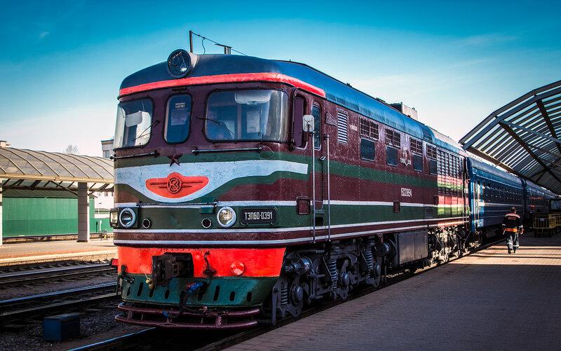 ТЭП60-0391 в Витебске