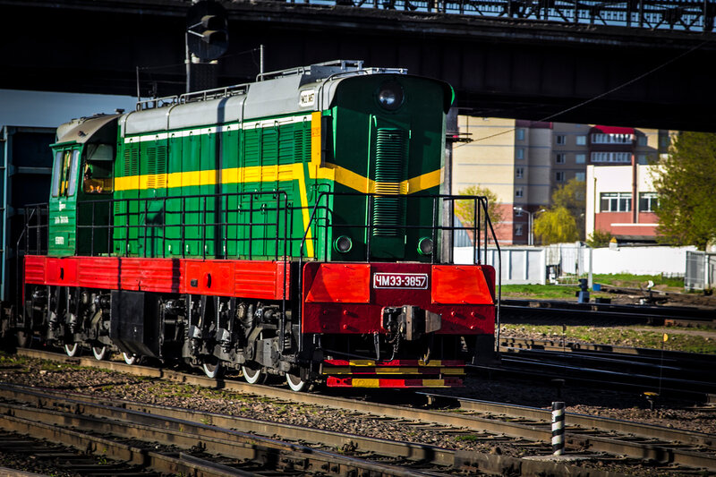 ЧМЭ3-3857 в Витебске