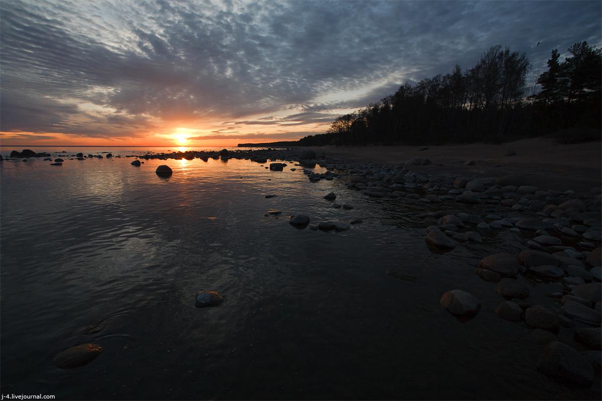 фото, фотография, закат, залив
