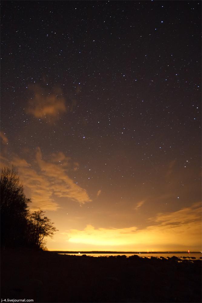 фото, фотография, звезды, ночь, залив