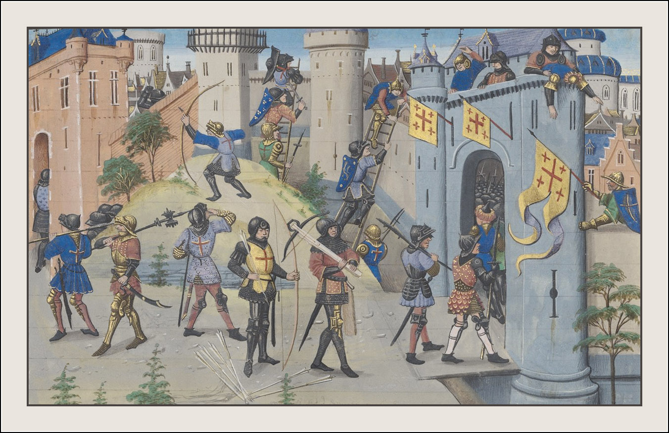 Croniques abregies commençans au temps de Herode Antipas