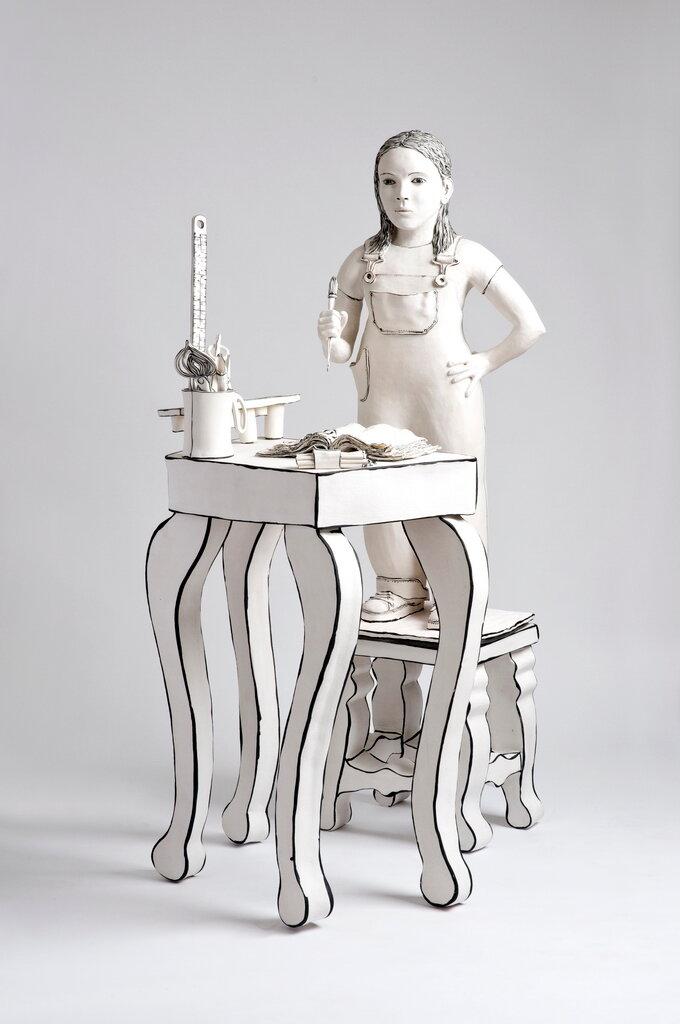 скульптура КатариныМорлинг