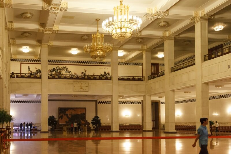 Центральный холл, Дом народных собраний, Пекин