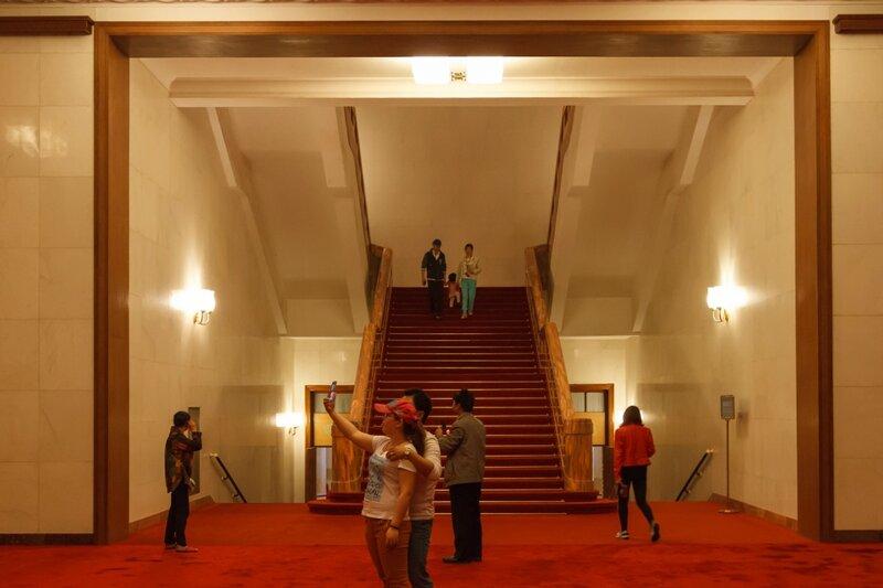 Лестница, Дом народных собраний, Пекин