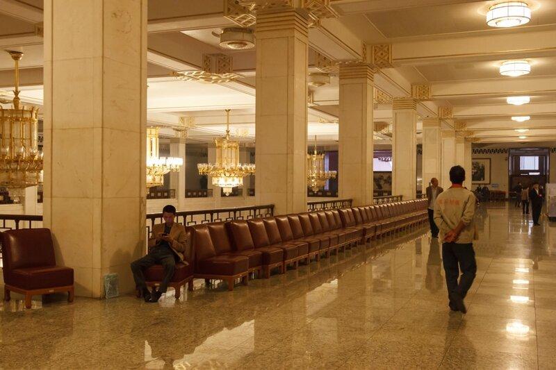 Центральный холл, 2-й этаж, Дм народных собраний, Пекин