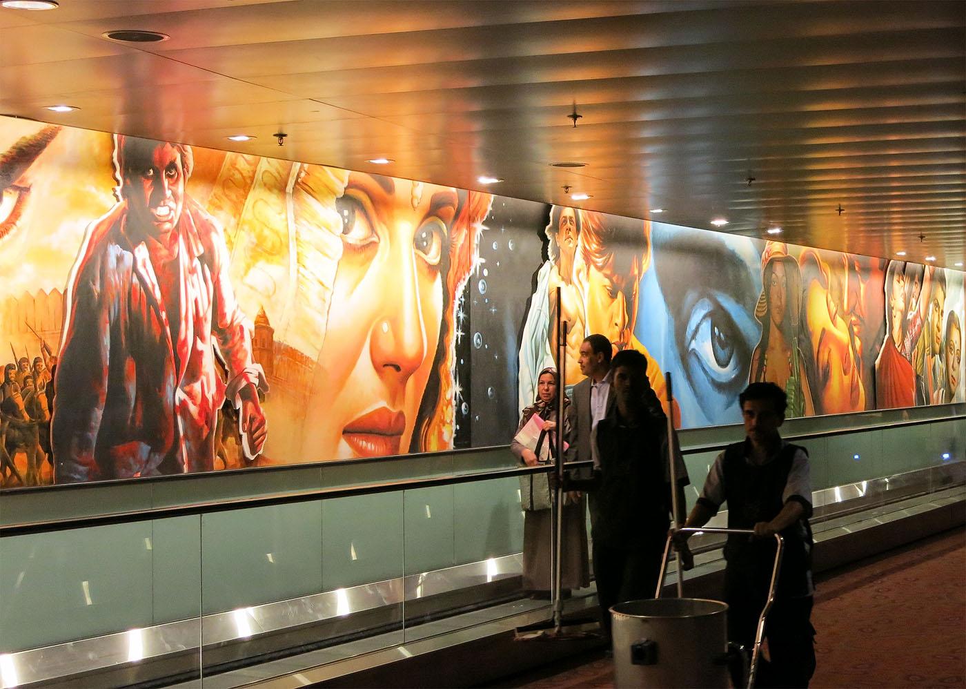 Фотография 4. Поездка в Мумбаи. С первых шагов по индийской земле чувствуется дыхание Болливуда