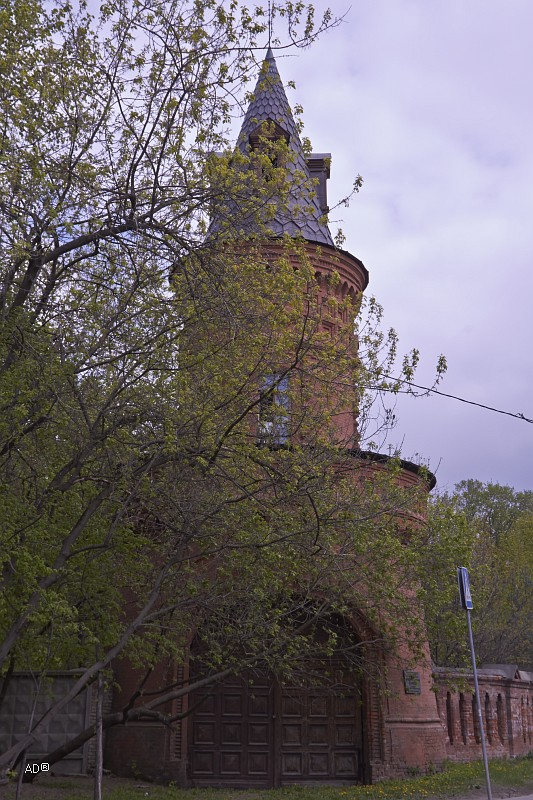Угловая башня усадьбы Покровское-Стрешнево