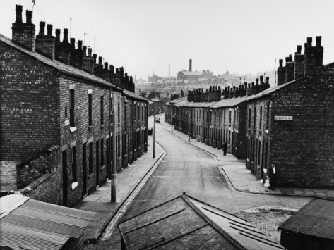 Terraced Houses in Wigan - 1961