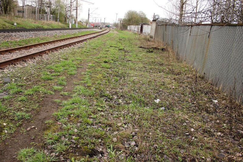 Бывший подъездной на станции Шаховская