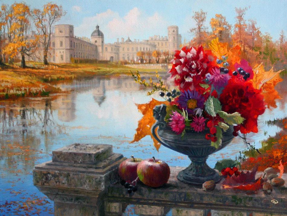 Картинки с пейзажами и натюрмортами