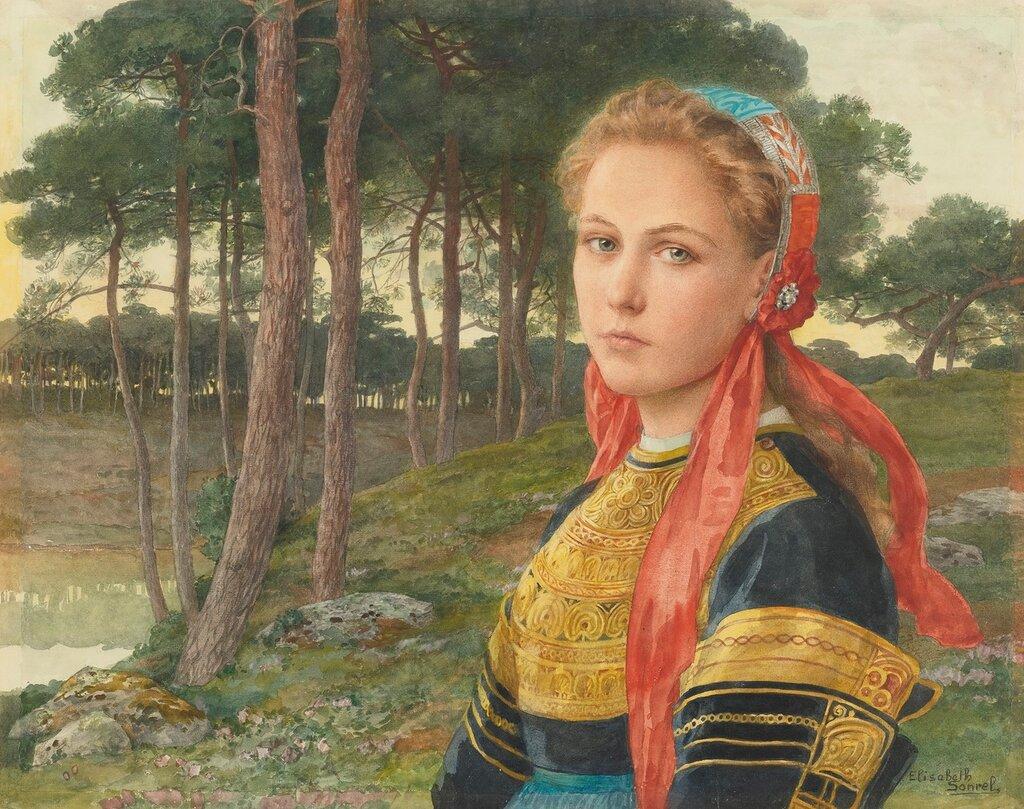 ELISABETH SONREL FRENCH 1874 - 1974 LA FORÊT DE BROCÉLIANDE.jpg