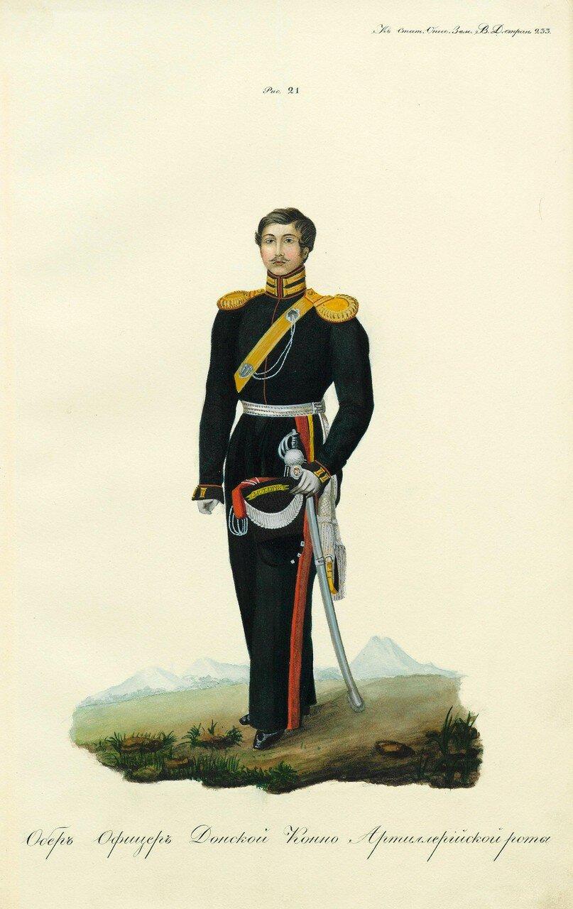 42. Обер-офицер Донской конно-артиллерийской роты