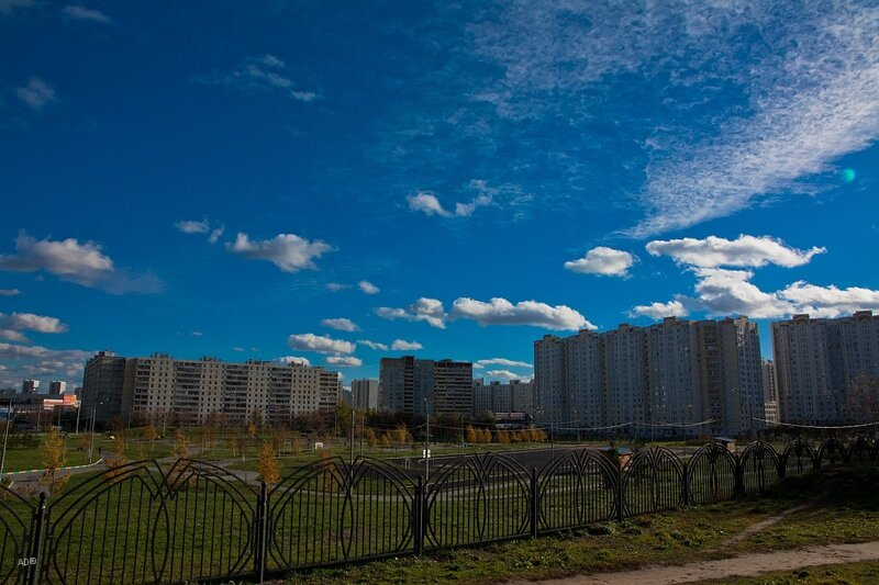 39-й «Б» микрорайон Люблино — парковая зона