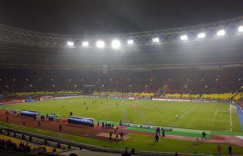 Стадион Лужники матч Спартак - Марсель