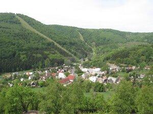 Живописный поселок Микулов