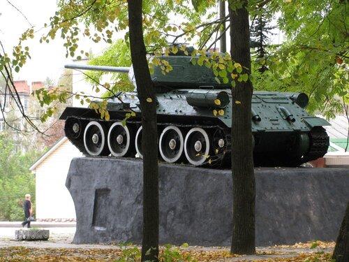Рославль, танк
