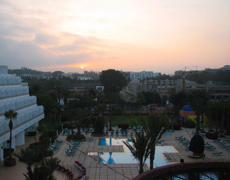 Рассвет в Агадире (Марокко)
