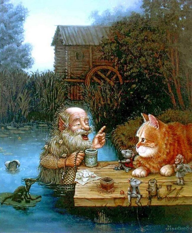 Сказочная котовасия А.В.Маскаева