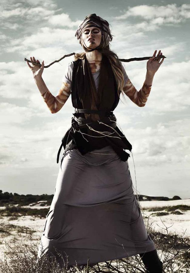 модель Natalie Keyser / Натали Кейзер, фотограф Rupert Tapper