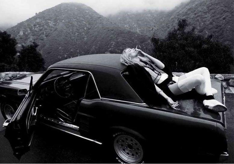 модель Дри Хемингвэй / Dree Hemingway, фотограф Michael Flores
