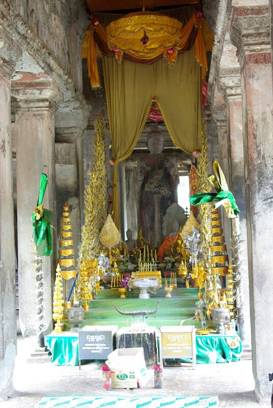 Из чего сделаны храмы ангкор вата