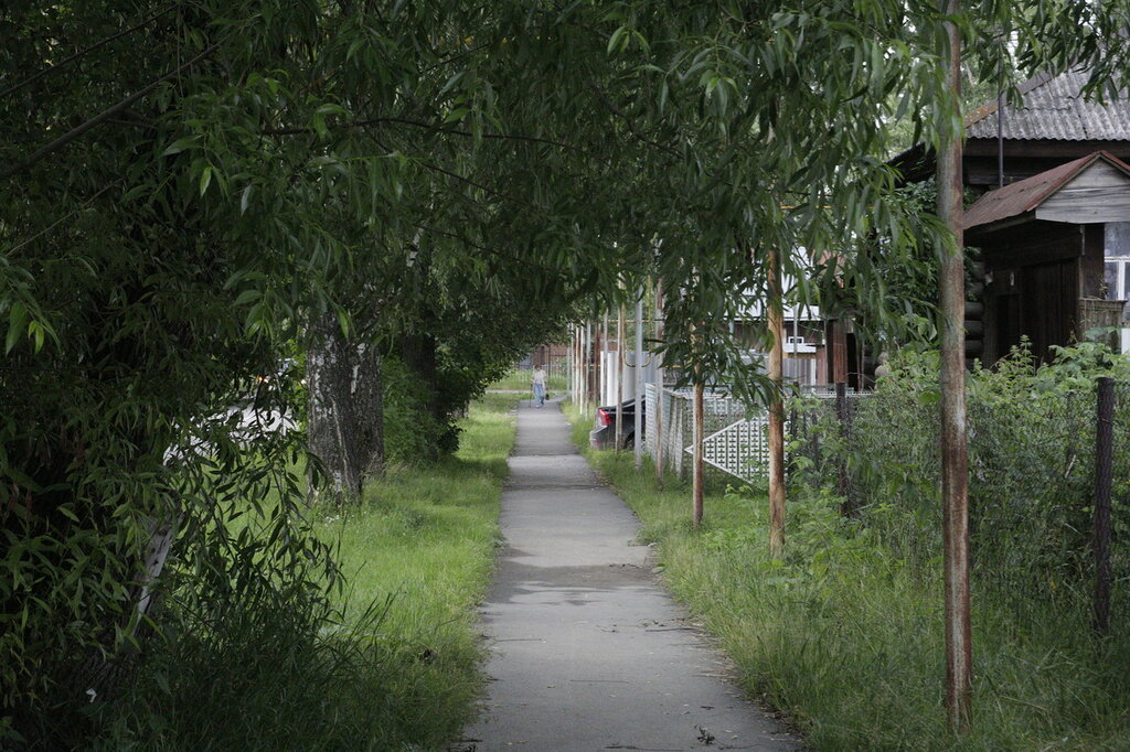 Улица Фрунзе в Кусе