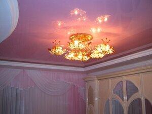 Современные люстры для натяжных потолков