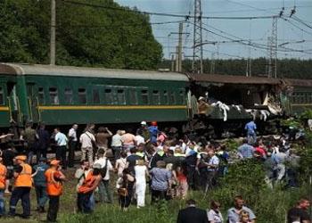 Крушение поезда 20.05.2014 в Подмосковье: названа причина