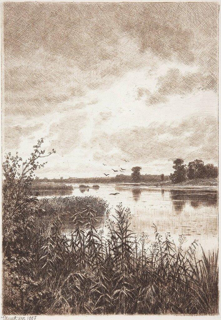 На реке после дождя. 1887 21,8х15,3.jpg