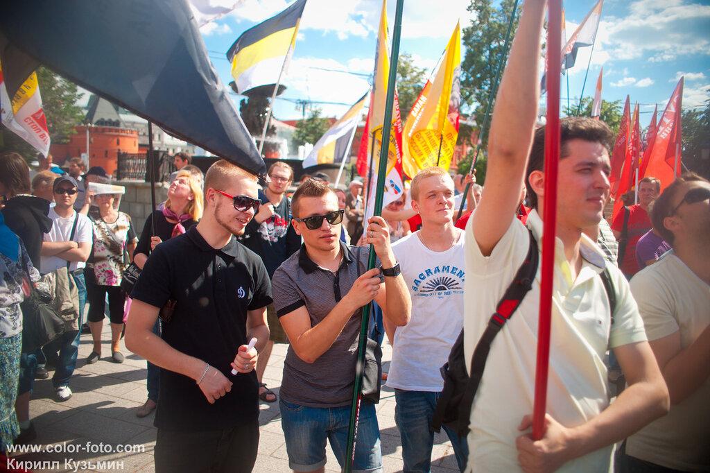 сегодня митинг в Москве