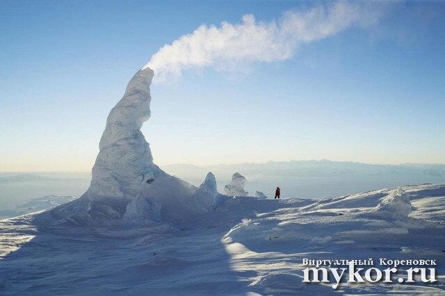 Снежные трубы фото