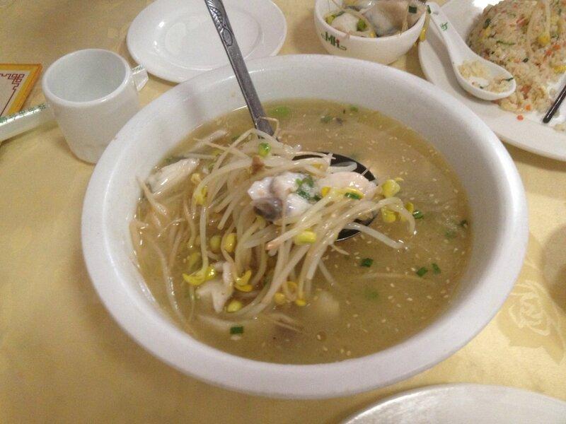 Супы в ресторане Seafood