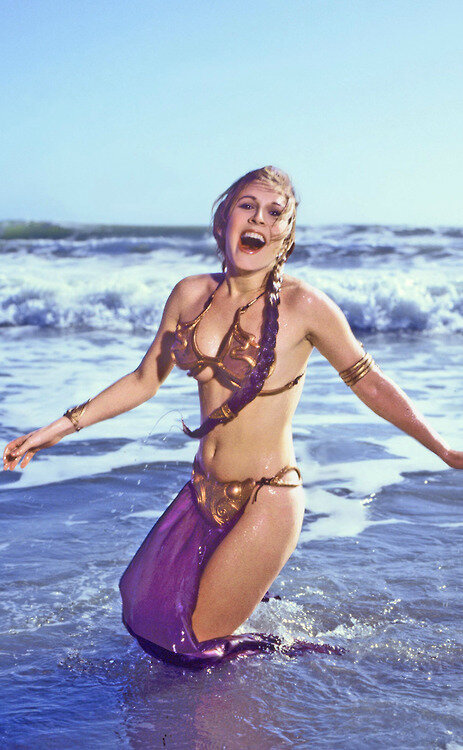 Carrie Fisher as Princess Leia..jpg