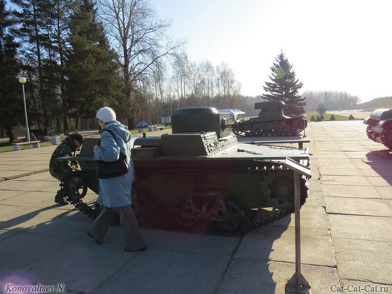 Малый плавающий танк Т-38. Музей-диорама «Прорыв блокады Ленинграда»