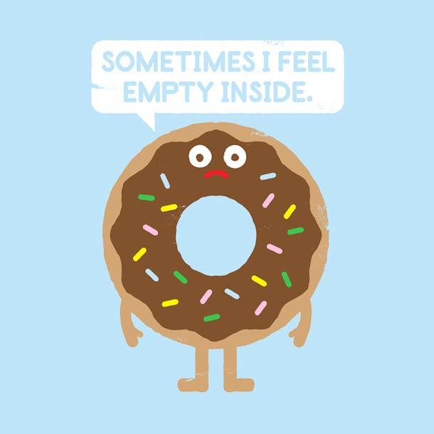 Иногда ощущаю пустоту внутри.