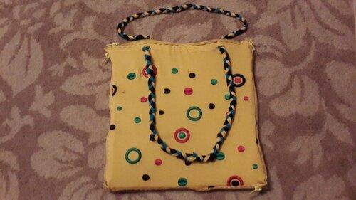 Детская сумка-подушка своими руками