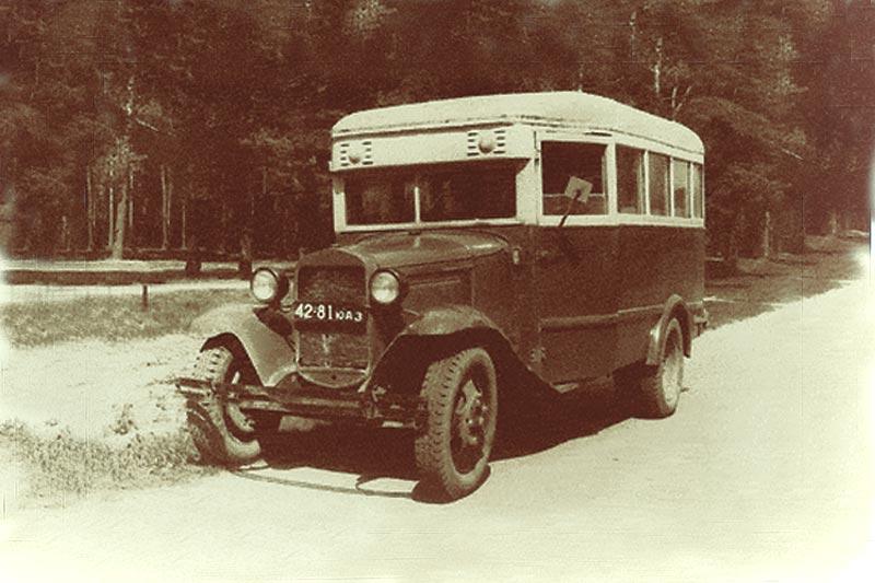 Автобус ГАЗ 03-30 в Подмосковье, фото А.Новикова