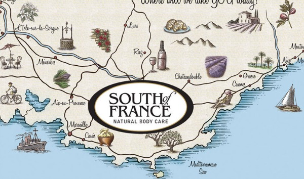 натуральное мыло South of France, Herbes De Provence french