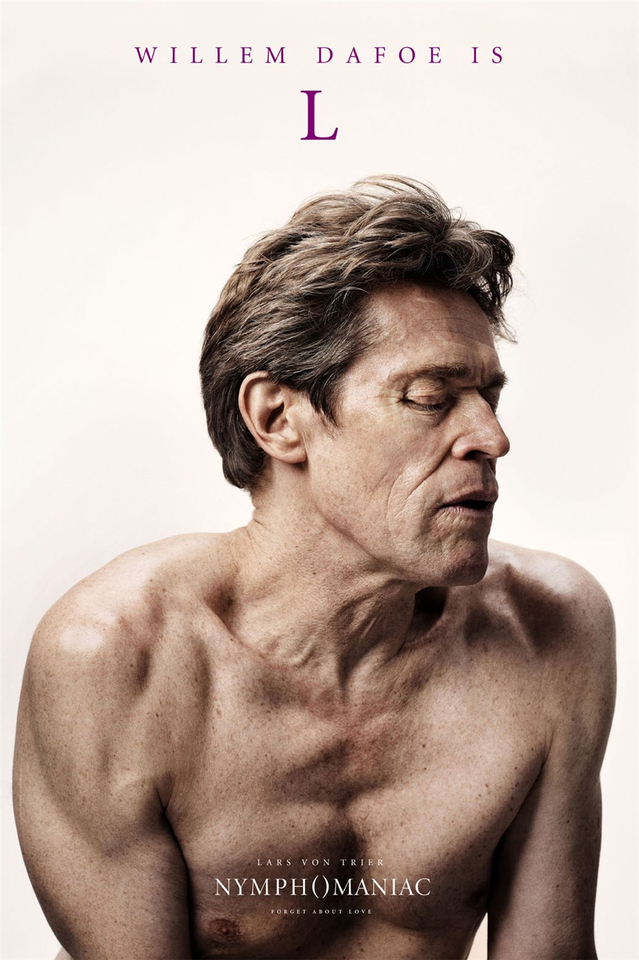 Постеры к фильму Нимфоманка / Nymphomaniac posters by Casper Sejersen - Willem Dafoe is L