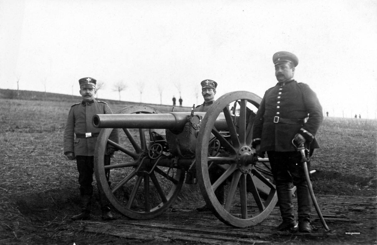 Полевая пушка калибра 9 см образца 1873 года (1914 год)