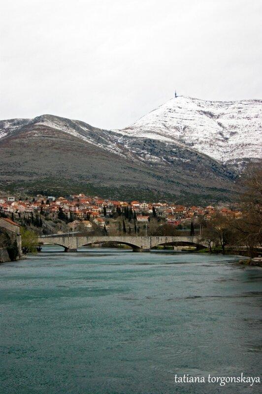 Вид с моста Иво Андрича