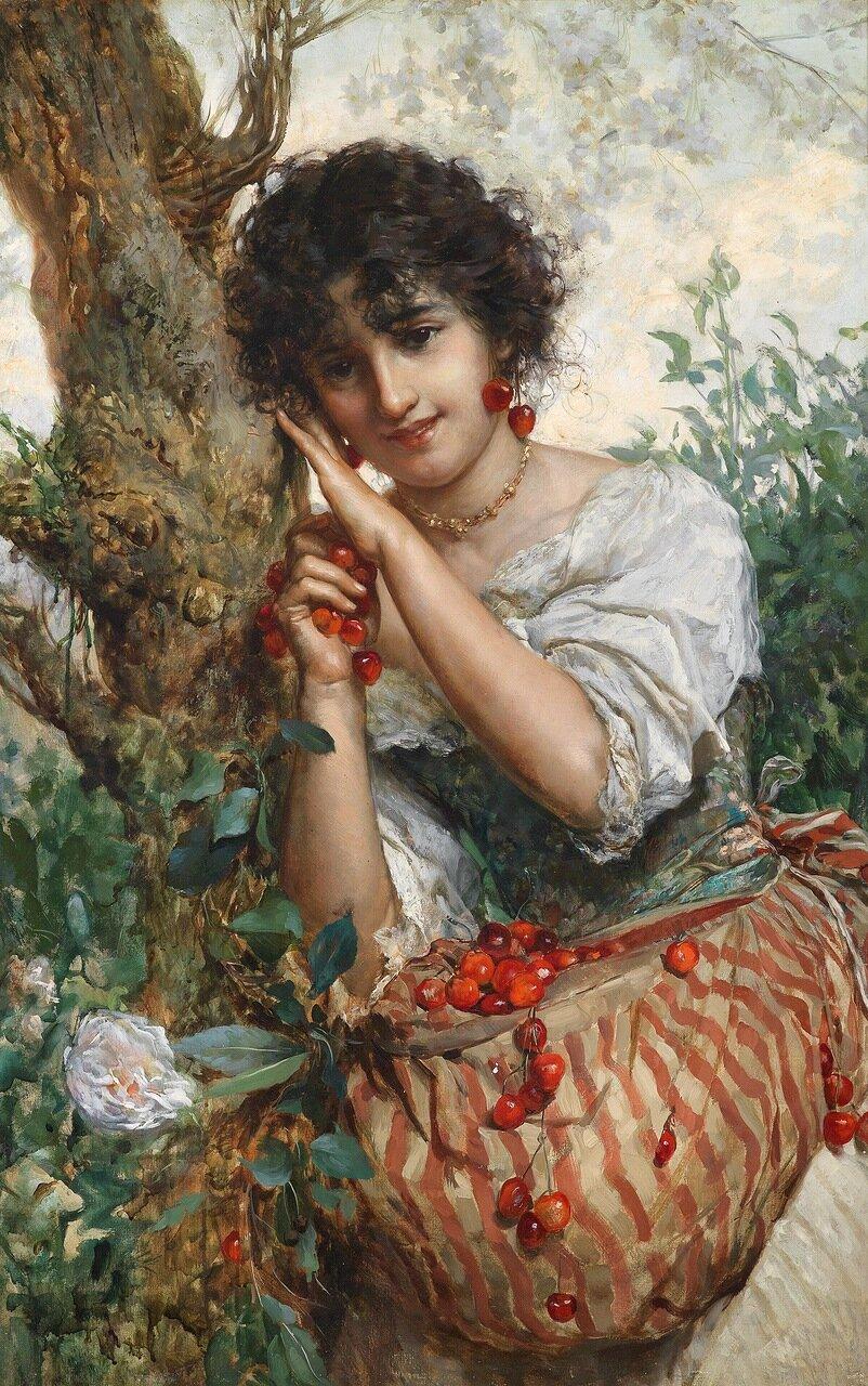 Salvatore Postiglione (1861-1906).Вишневое время.jpg