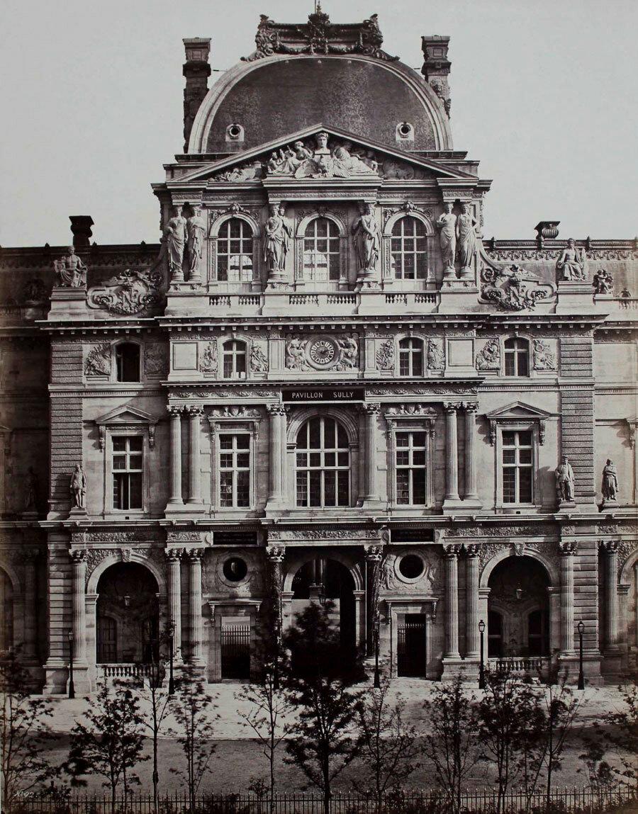 1857. Новый Лувр. Павильон Сюлли