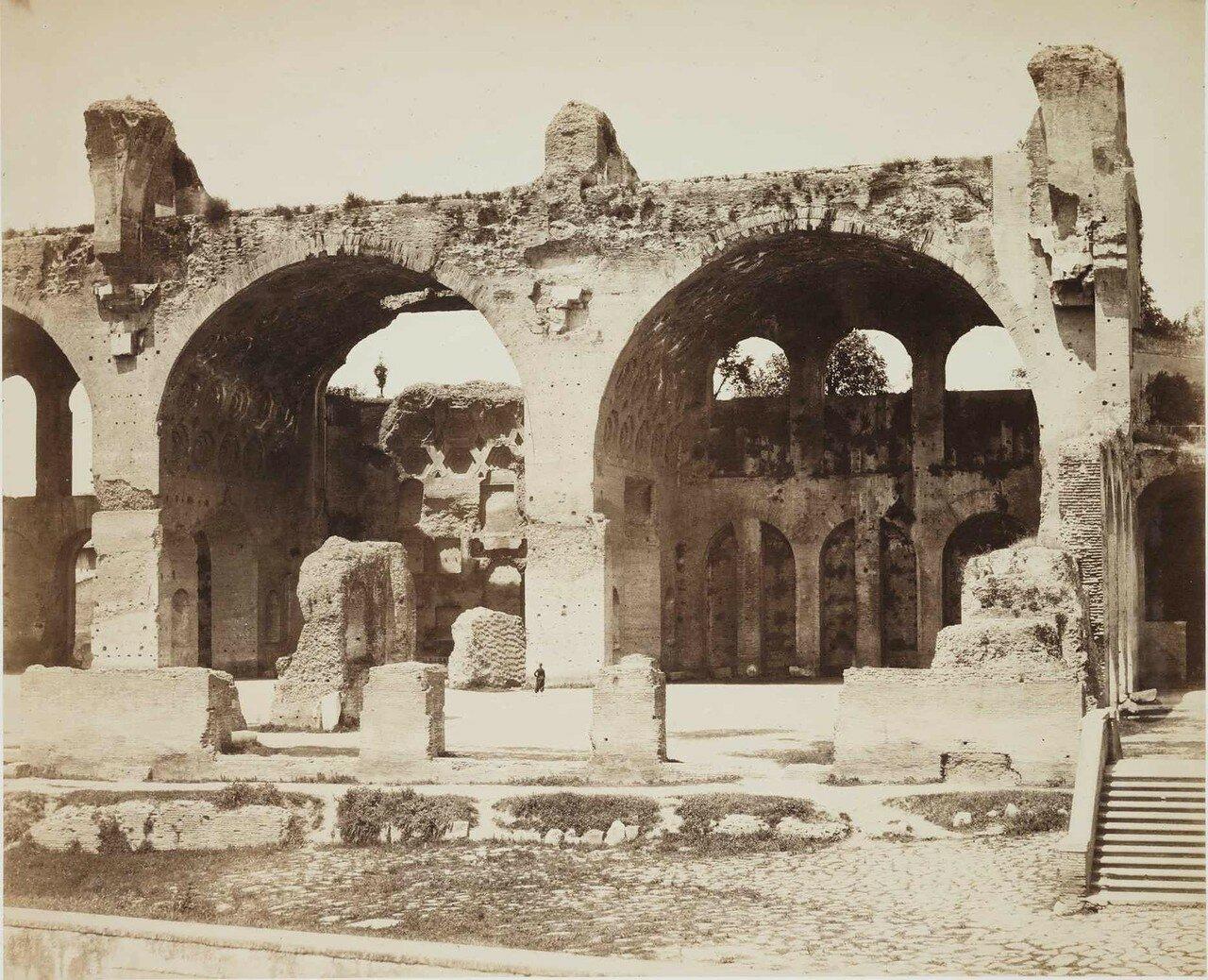 Термы Каракаллы. 1860