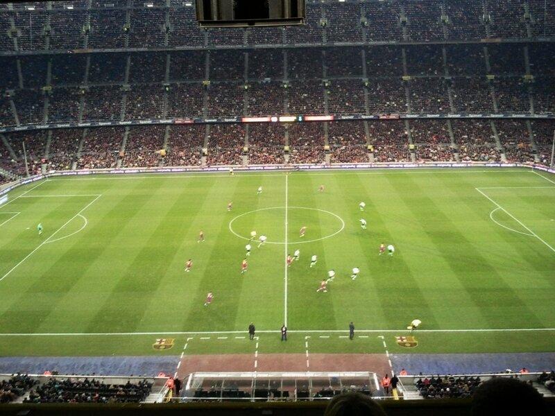 «Барселона» поразила ворота «