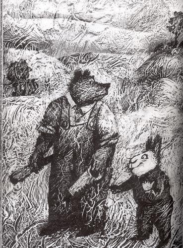 Иллюстрация из книги «Сказки дядюшки Римуса»