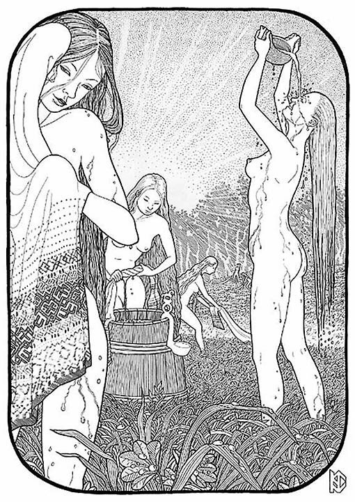 Эротика и секс у древних славян