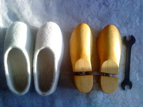 Колодки для валяния обуви