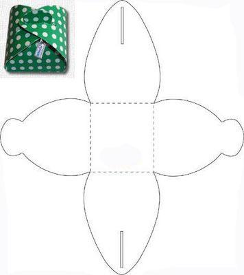 Упаковка с выкройками
