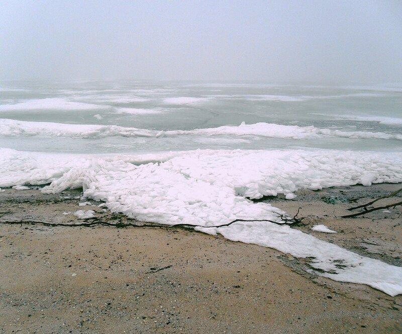Лёд и песок
